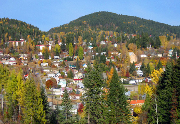 Rossland - the golden city